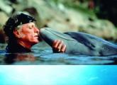 Flipper Trainers Ric O`Barry kritisiert Delfinarien