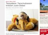 Justin Bieber darf Affen nicht zurückerhalten!
