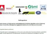 Stellungnahme zum Jagdgesetz NRW