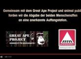 Nach RTL-Reportage: Tierrechtsverbände veröffentlichen neues Video über mangelhafte Schimpansenhaltung im Tierpark Nadermann