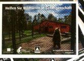 Postkartenaktion gegen Tierleid im Zoo